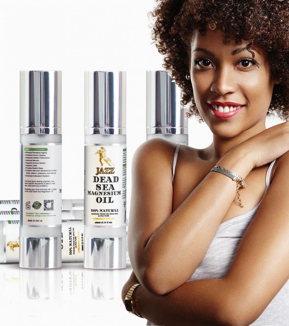 Jazz Magnesium Oil - Black Skin